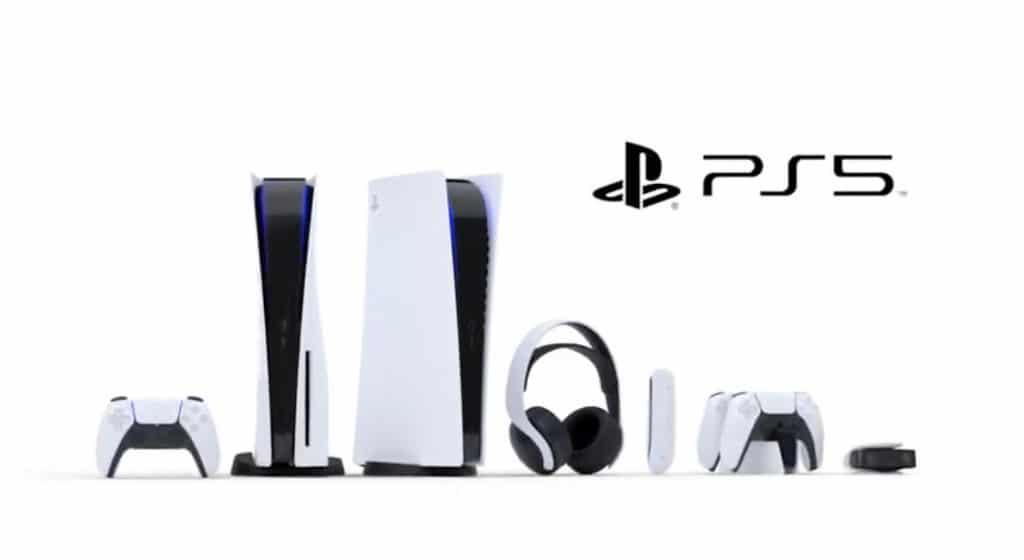 Playstation 5 en ambas versiones y sus accesorios