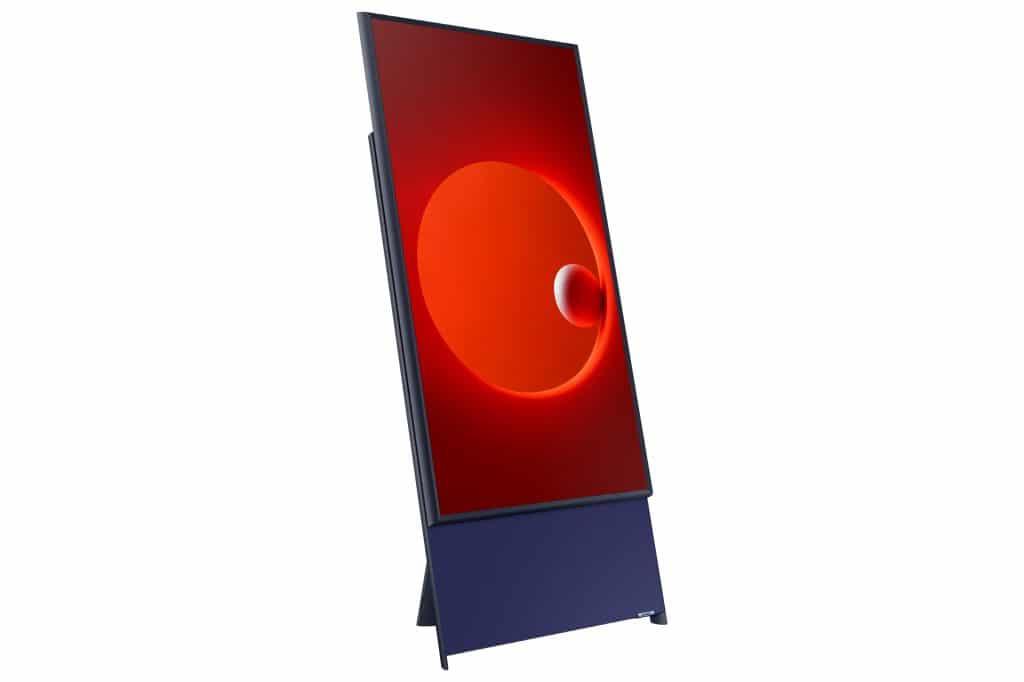 The Sero una televisión que puede disfrutarse en formato vertical.