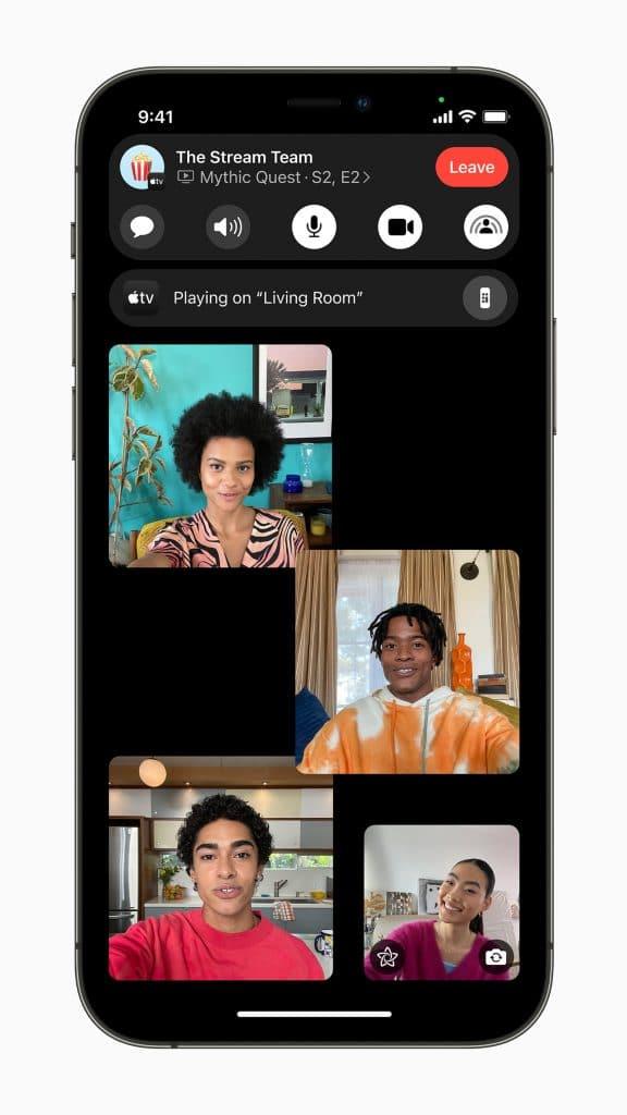 Como se muestra FaceTime en iOS 15