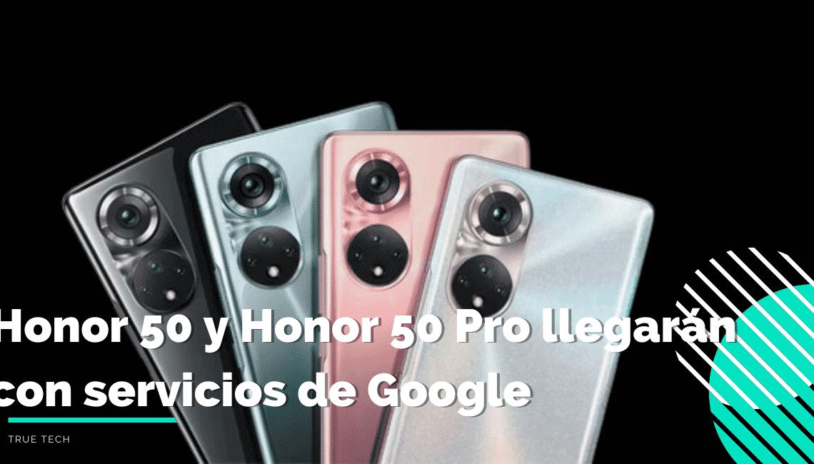 Especificaciones Honor 50 y Honor 50 Pro
