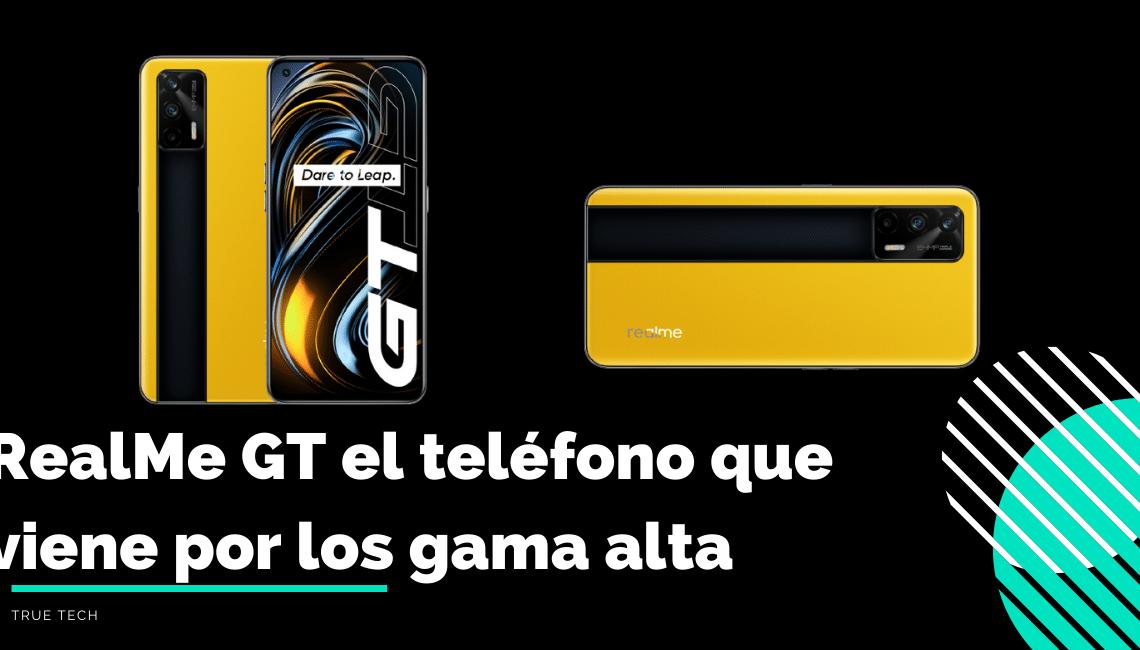 Diseno del Realme GT 5G