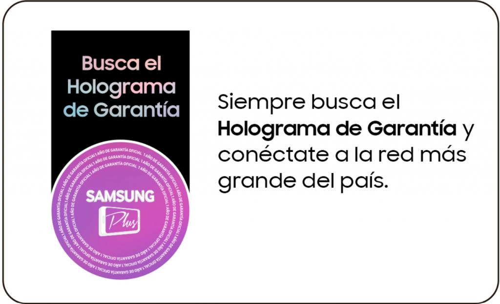 sello de producto homologado en celulares samsung